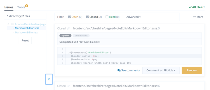 Read more about the article Advanced issue filtering and directory tree