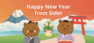 Happy 2019 from Sider!