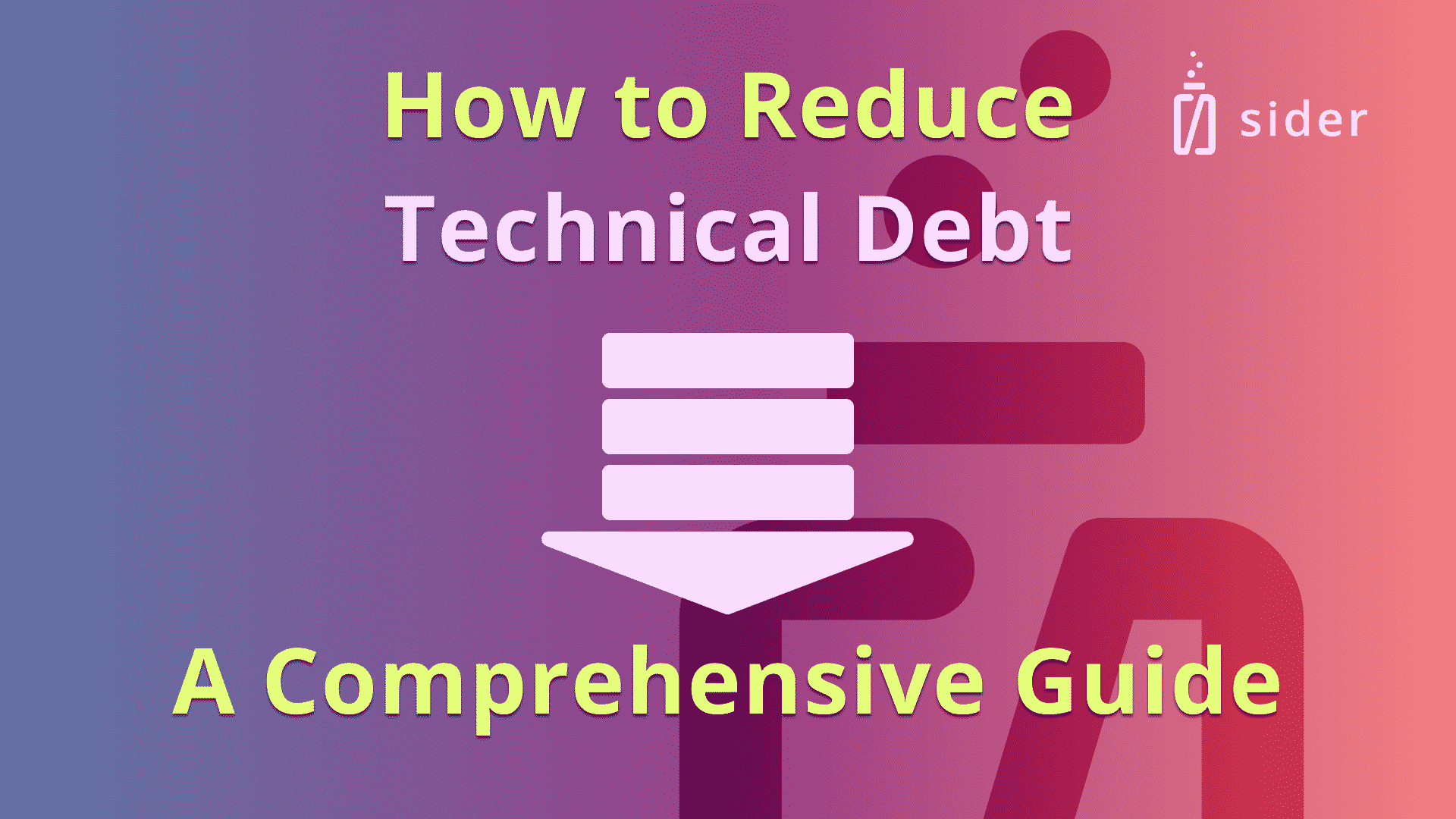 Read more about the article How to Reduce Technical Debt: A Comprehensive Guide