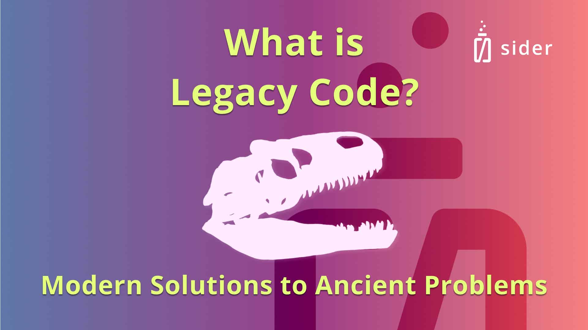 Read more about the article What is Legacy Code? How to Use Modern Solutions to Fix Ancient Coding Problems