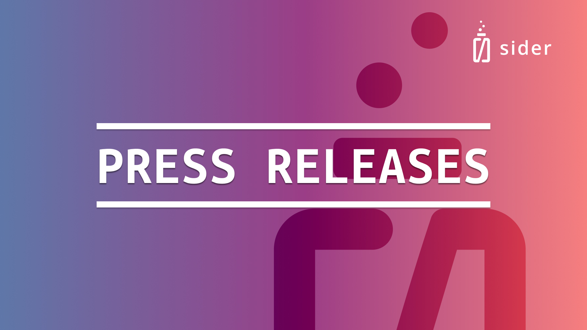 Read more about the article Recent Press Releases